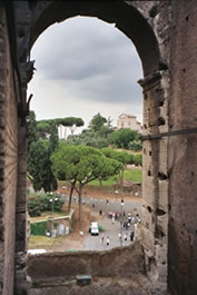 From the Coliseum, Rome