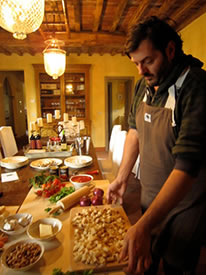 Tuscan cooking lesson