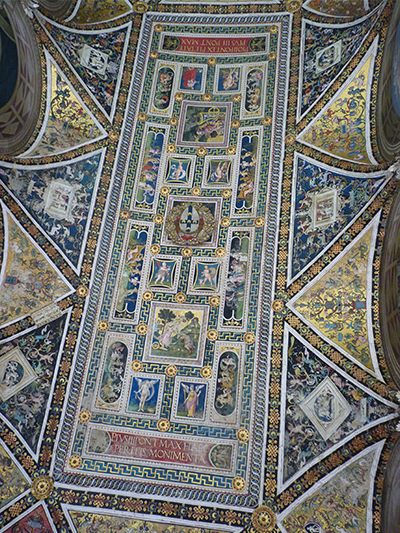 Ceiling of Piccolimini Library