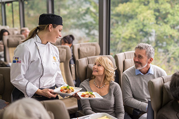 Rocky Mountaineer - Silver Leaf Service