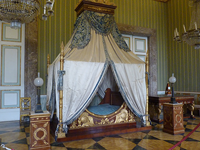Royal Bedroom, Imperial Palace, Caserta