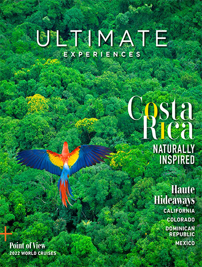 Ultimate Experiences Magazine Cover January 2021